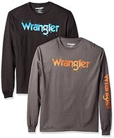 Wrangler Men's Long Sleeve Western Tee Shirt