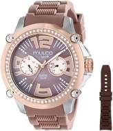 Mulco Women's MW2-28050S-034 Analog Display Swiss Quartz Watch