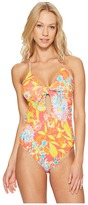 Polo Ralph Lauren Mumbai Floral One-Piece Swimsuit Women's Swimsuits One Piece