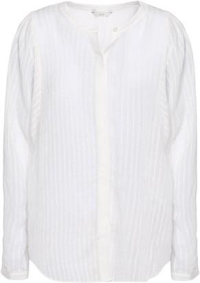 Joie Rashelda Striped Gauze Shirt