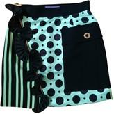 Ungaro Green Silk Skirt for Women
