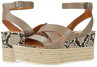 DV Dolce Vita Rvarda (Dark Taupe) Women's Wedge Shoes