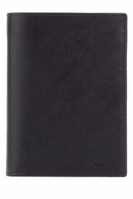 Prada Leather Passport Wallet