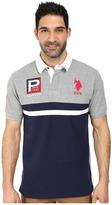 U.S. Polo Assn. Cotton Pique Color Block Polo