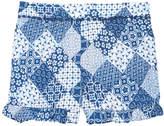 Epic Threads Ruffle-Trim Printed Shorts, Big Girls, Created for Macy's