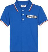 Moschino Bubble logo cotton polo 4-14 years