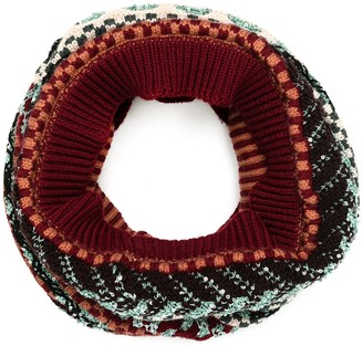 Missoni Pattern-Knitted Scarf