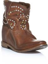 Thumbnail for your product : Isabel Marant Caleen hidden wedge studded boots