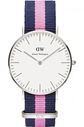 Daniel Wellington Ladies Winchester Silver 36mm Watch DW00100049