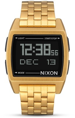 Nixon Unisex Adult Digital Quartz Watch with Stainless Steel Strap A1107-001-00