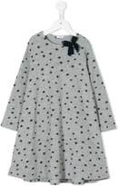Il Gufo star pattern flared dress