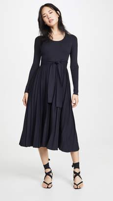 Edition10 Scoop Neck Midi Dress