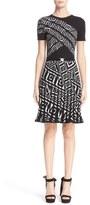 Versace Jacquard Knit Dress