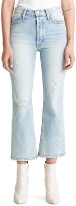 Mother The Tripper High Waist Crop Bootcut Jeans
