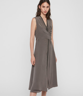 AllSaints Jayda Midi Dress