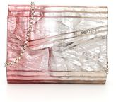 Jimmy Choo Crinkled Lamé Ombre Candy Clutch