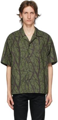 John Elliott Green Camp Shirt