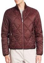 Michael Kors Quilted Zip-Front Jacket