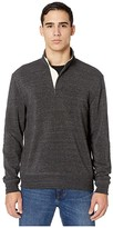 Alternative Eco Fleece Notched Pullover (Eco Black) Men's Clothing