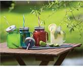 Kitchen Craft Homemade Set Of 6 Glass Mason Jars - Clear