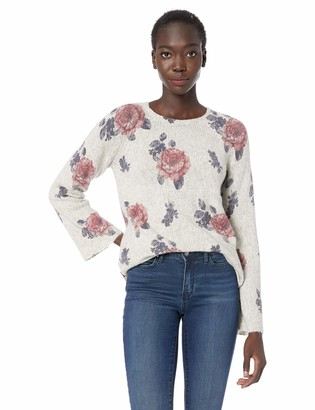 Lucky Brand Women's Floral Pullover Sweater