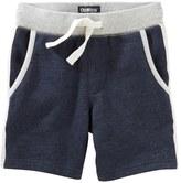 Osh Kosh Boys 4-8 Knit Terry Shorts