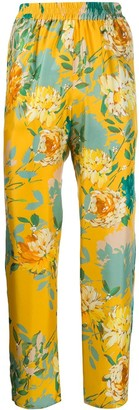 Gianluca Capannolo Floral Print Trousers