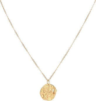 Alighieri Collier Year of the Dog 24kt gold-plated necklace
