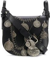 Chanel Pre Owned 2003 Medallion Coins saddle bag