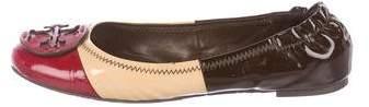 Tory Burch Reva Patent Leather Flats
