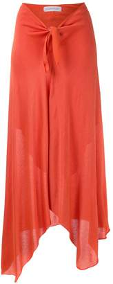 M·A·C Mara Mac tie waist knitted midi skirt