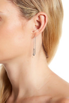 Rebecca Minkoff Safety Pin Threader Earrings