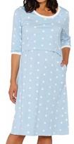 Angel Maternity Women's Heart Maternity/nursing Gown