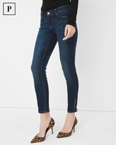 White House Black Market Petite Trim-Detail Skimmer Jeans