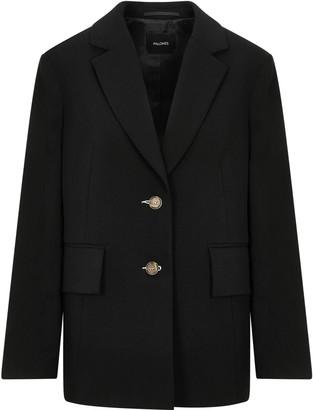Palones Button Back Black Blazer