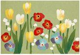 Liora Manné Trans Ocean Imports Visions III Le Jardin Floral Doormat - 20'' x 29 1/2''