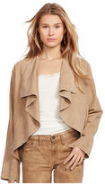 Polo Ralph Lauren Suede Open-Front Jacket