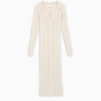 REMAIN Birger Christensen Off-white Joy kinitted dress