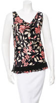 Moschino Silk Floral Blouse