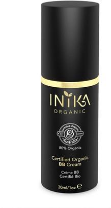 Inika Certified Organic Bb Cream Foundation 30Ml Yl6 Beige (Medium, Neutral)