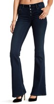 Black Orchid Everly Button Front Flare Jeans
