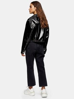 Topshop 32' Editor Jeans - Black