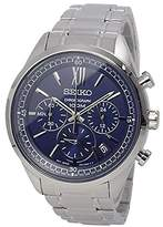Seiko – Quartz – Unisex Watch – ssb155p1 Grey Chronograph Quartz – Blue Dial – Steel Bracelet