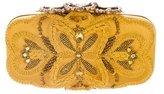 Oscar de la Renta Beaded & Embroidered Clutch
