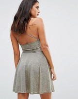 Wal G Halterneck Skater Dress