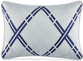 "Tommy Hilfiger Josephine Argyle Applique 12"" x 18"" Decorative Pillow Bedding"