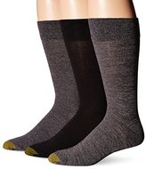 Gold Toe Men's Flat Knit Crew Socks