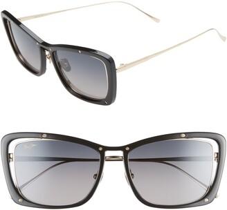 Maui Jim Adrift 54mm Polarized Cat Eye Sunglasses