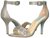 Betsey Johnson Blue By Blue by Gina (Champagne) Women's 1-2 inch heel Shoes