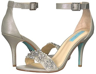 Betsey Johnson Blue by Gina (Champagne) Women's 1-2 inch heel Shoes
